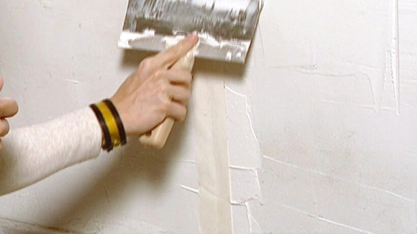 How to Patch a Wall Correctly Before Painting