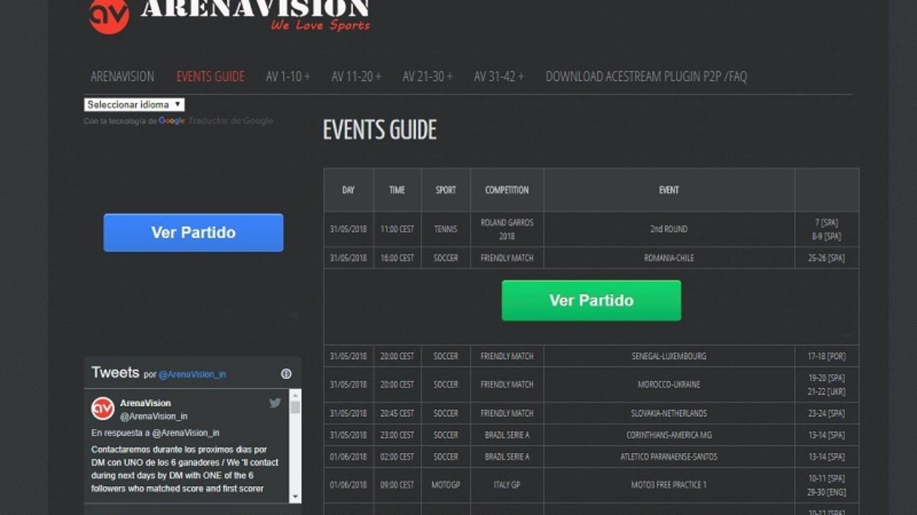 Arenavision