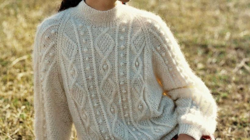 Irish sweater: the coziest fashion staple